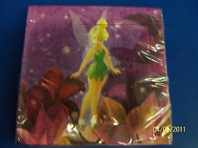 Tinker Bell /& Fairies Disney Fairy Pixie Birthday Party Paper Beverage Napkins