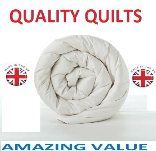 DUVET QUILTS Super Warm Top Quality bedroom Bed Quilts-SINGLE,DOUBLE KING SIZE