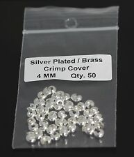 """Sterling Silver 3.0 MM Bead Tip  Large  Hole 0.9mm/""""  Pkg USA #1108LS Of 50"""
