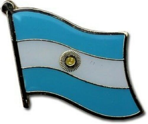 Argentina Country Flag Bike Motorcycle Hat Cap lapel Pin