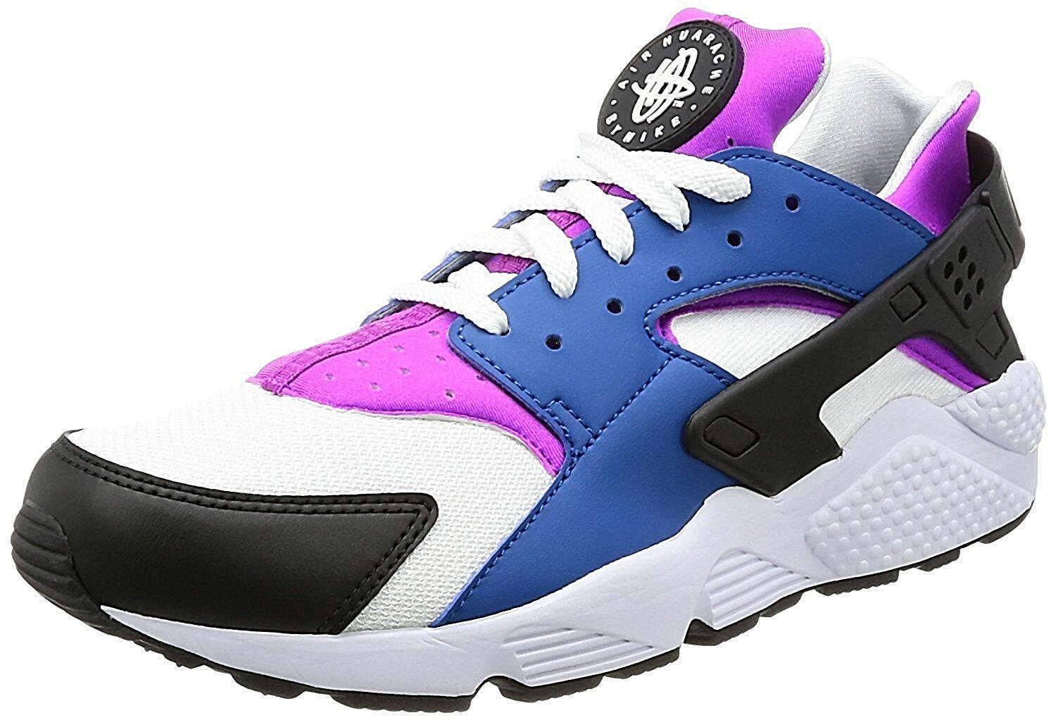 NIKE Air Huarache Run 8 Running Training Chaussures Hommes 8 Run Bleu Jay/Hyper Violet/ Noir fdf7d1