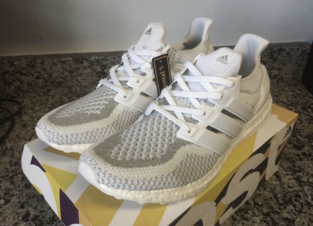the best attitude 679b3 ed892 adidas Ultraboost 2.0 Primeknit Ltd 3m White Reflective Uk10.5 BB3928