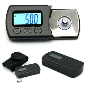 Vision Stylus Tracking Force Waage + Batterien Brinkmann VTF Plattenspieler Gauge Setup