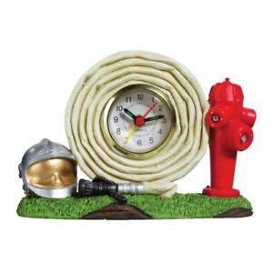 Uhr Feuerwehr Schlauch 13,5cm
