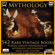 Mythology Occult Books Legend Folklore Gods Titans History Religion Myth Zeus