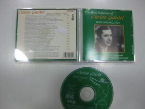 Carlos Gardel CD Spanisch Mano A Mano 1927. 1995