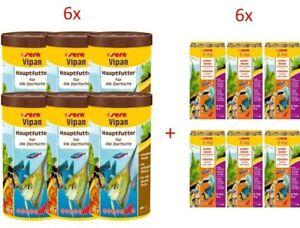 De 6 Pack Sera Vipan 1000 Ml Pièces O-nip , X 24