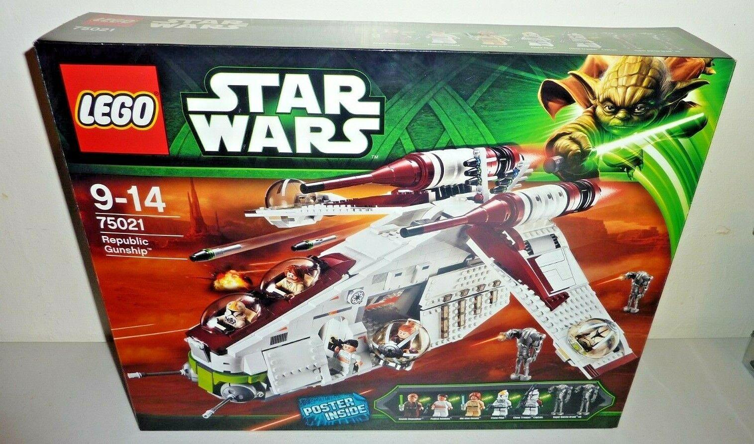 Lego Stern wars 75021 republic gunship new sealed
