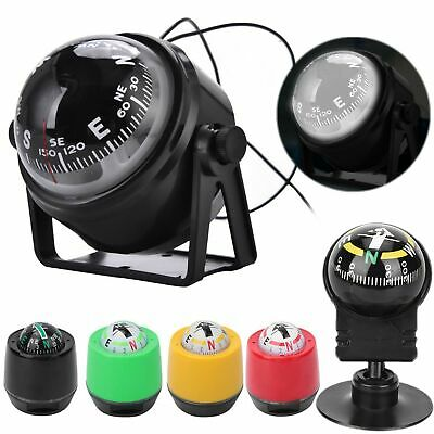 for Car Boat truck Compass Guide Ball Shaped Night Vision High Quality Black