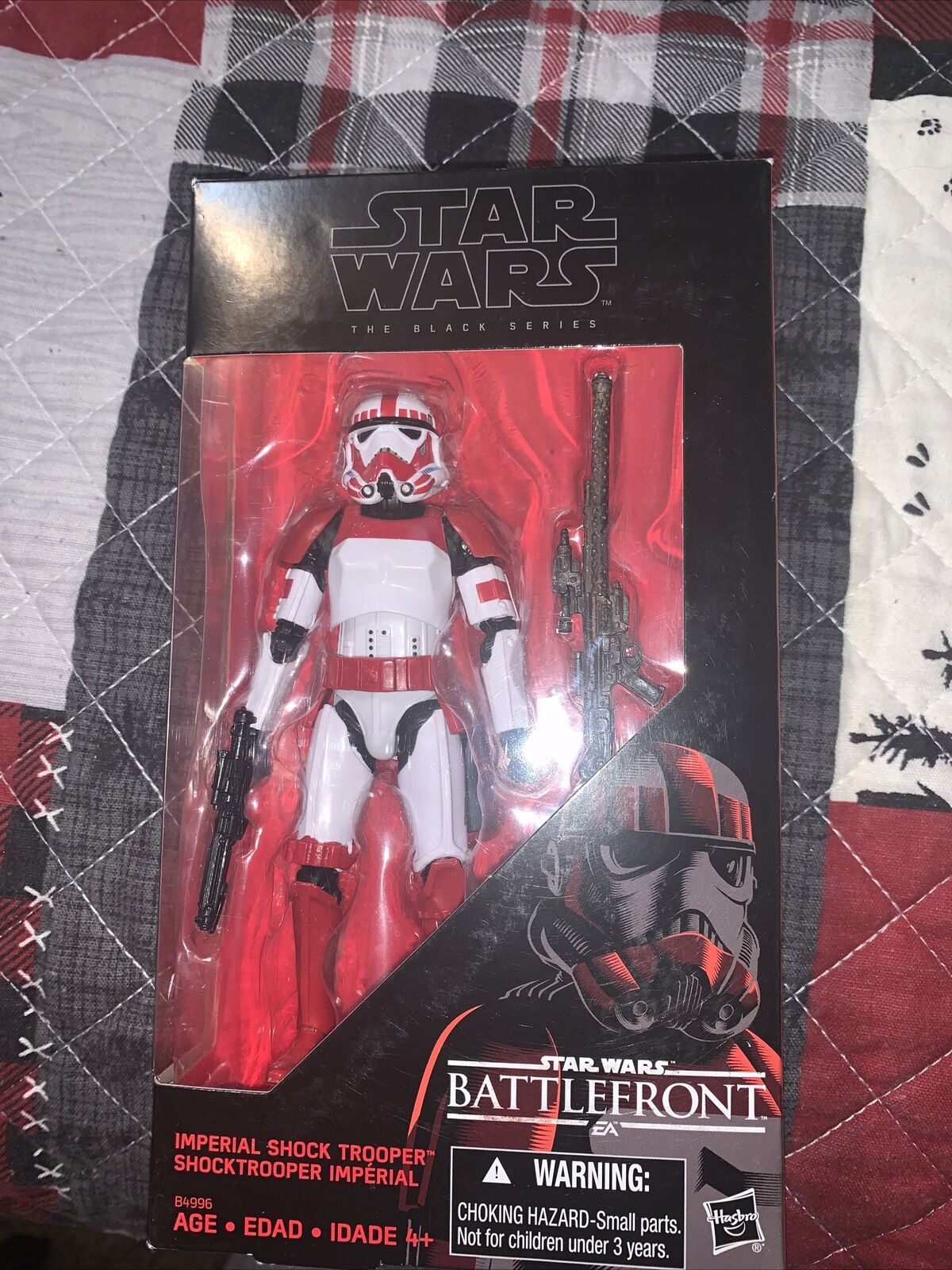 """Imperial Shock Trooper Battlefront 6/"""" The Black Series STAR WARS Exclusive #2"""