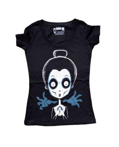 Akumu Ink fatal Prophecy t shirt tatuaje villana Gothic monstruo #3155 271