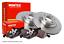 Audi S4 Quattro Avant Mintex Disque de frein 345 mm et Pads 03 /> 08
