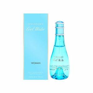 Cool Water by Davidoff for Women 3.4 oz Eau Deodorante Spray (Glass) Brand New