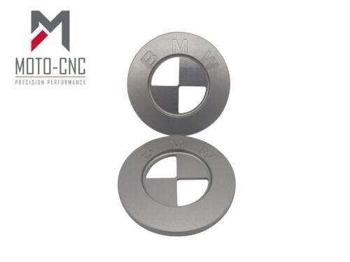 R60 R65 R75 R80 R100  51147721223 BMW Fuel Tank Badges 2 x CNC Custom 70mm