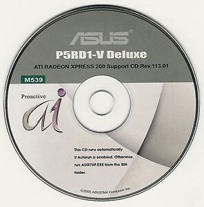 Details about ASUS P5RD1-V P5RD1-V DELUXE Motherboard Drivers Installation  Disk M539