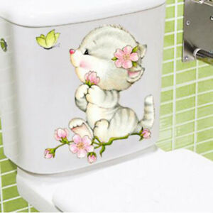 Durable-Bathroom-Toilet-Decoration-Seat-Cat-Wall-Stickers-Decal-Home-Decor-HS3