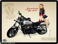 Harley Davidson Marissa Miller Refrigerator Magnet