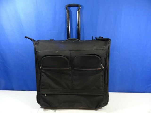 efcf270730 Tumi Alpha Black 2 Wheeled Long Garment Bag 22032D4