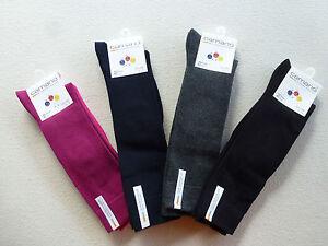 7er Pack Farbwahl Camano Kinder Socken Quarter einfarbig 27-42