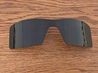 Inew Dark Grey Black Polarized Replacement Lenses For Oakley Oil Rig