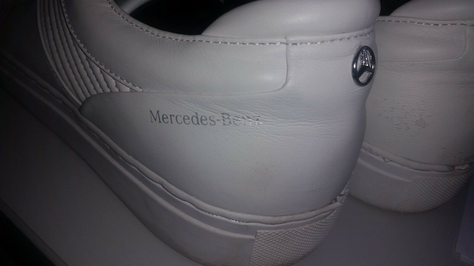 Hugo BOSS scarpe da ginnastica con logo MERCEDES E STELLA TAGLIA 41 | Moderno Ed Elegante Nella Moda  | Scolaro/Signora Scarpa