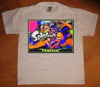 """Splatoon"" Personalized T-Shirt - NEW"
