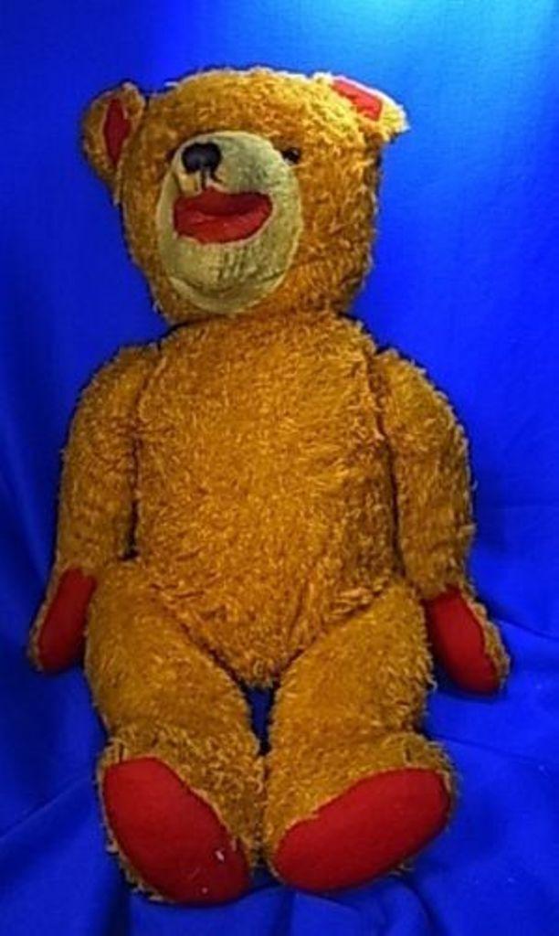 Vintage Stuffed Animal Bear Sonneberg  <