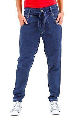 Pantaloni Donna Jeans Sexy Woman Harem Pants B295 Blu Tg S Veste Grande I Consumatori Prima