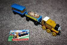 Thomas the Train Wooden Stepney Museum Jewl Fossil Cars Set Card Lot RARE 2002