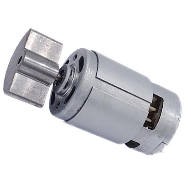 18500RPM Magnetic Micro Massager Motor Gray DC 6V-24V