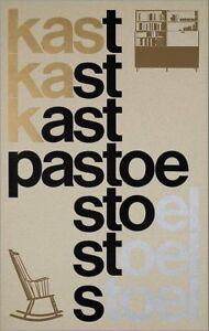 Details About Framed Print Kast Pastoe Stoel Vintage Rocking Chair Poster Picture Eames