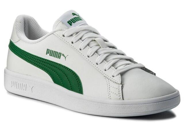 PUMA SMASH V2 L BUCK scarpe uomo sportive sneakers ginnastica pelle camoscio run