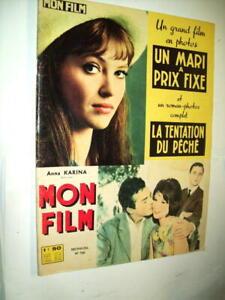 ANNA-KARINA-M-GIRARDON-MON-FILM-1964-UN-MARI-A-PRIX-FIXE-R-HANIN-C-DE-GIVRAY