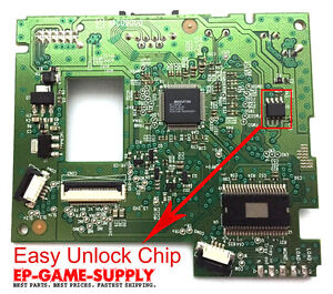 XBOX 360 Unlocked Replacement PCB DG-16D4S 9504 0225 0272 0401 1071 ...