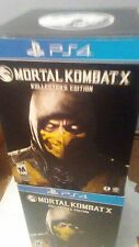 Mortal Kombat Import Edition Collectors Edition PS4 *NEW*LAST 1 Left