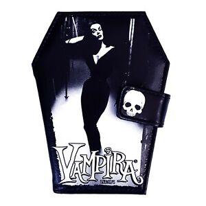 Kreepsville 666 Vampira Mist Goth Punk Gothic Horror Bats Black Coffin Wallet