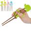 Kids Baby Chopsticks Children Cute Cartoon Learning Training Education Chopstick