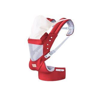 Confortable-porte-bebe-infantile-respirant-reglable-Wrap-Sling-Backpack-coton