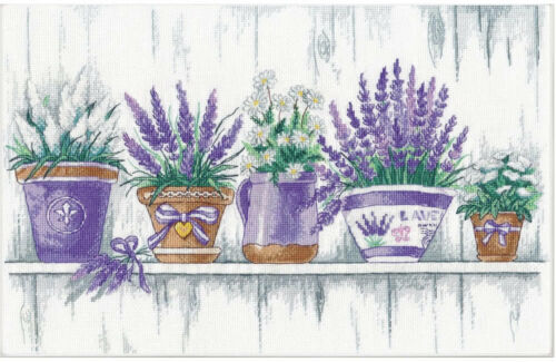Oven Cross Stitch Kit Lavender Tenderness