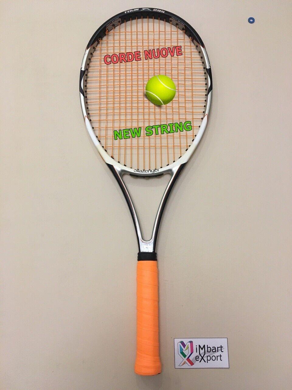 SLAZENGER CHALLENGE N.1 TOUR 295 98 16x19  L3 Racchetta Tennis Racket  de moda
