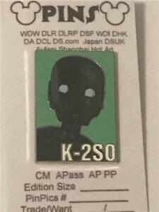 DISNEY STAR WARS ROGUE ONE REVEAL CONCEAL LIMITED RELEASE DEATH TROOPER PIN