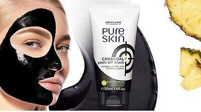 Oriflame Pure Skin Charcoal Peel Off Mask Ebay