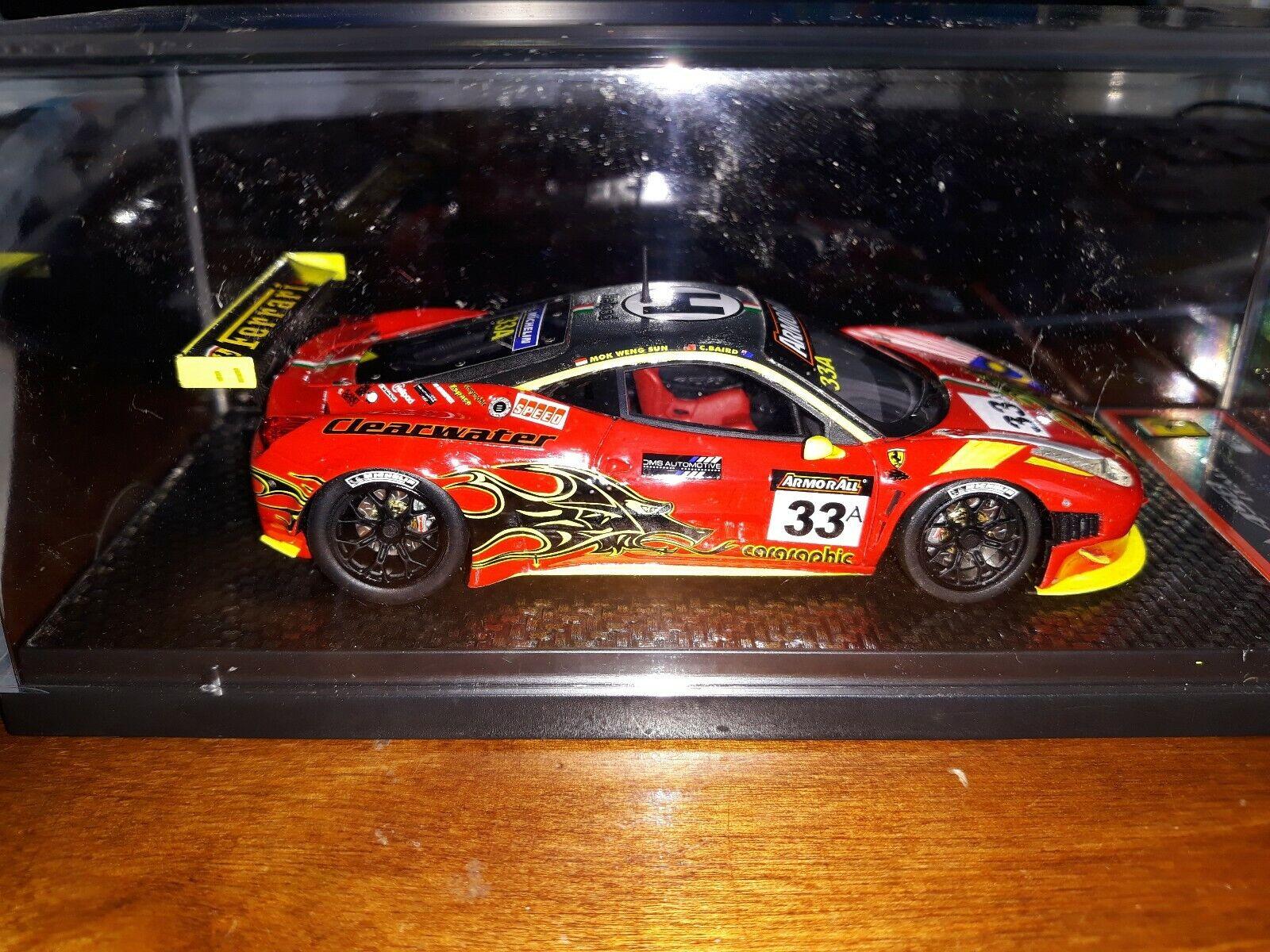 BBR 1 43 Ferrari 458 Italia GT3 Bathurst 12 Hours 2012 005 100