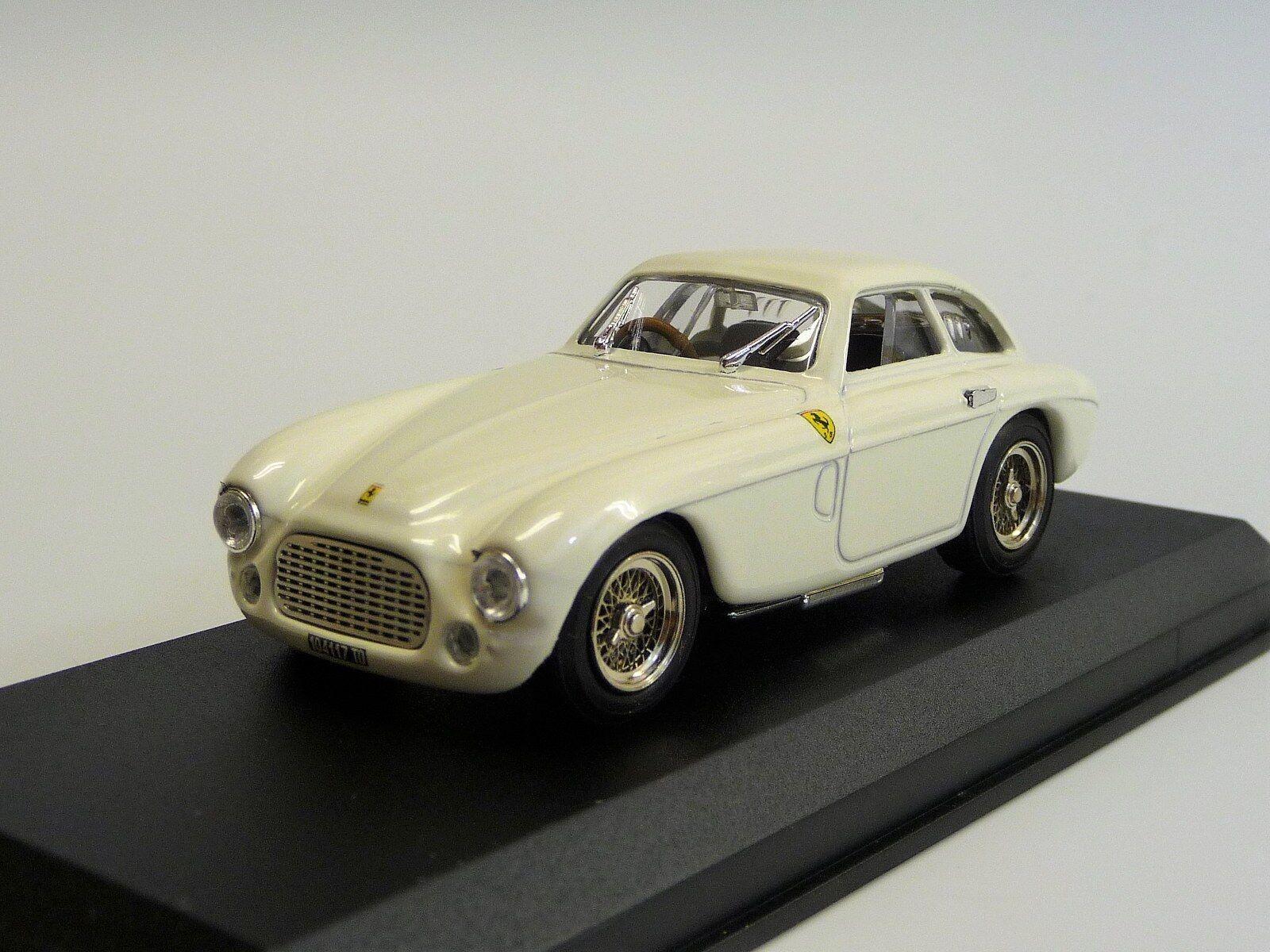 Ferrari 166 MM stradale Blanc Type Model art002 NEUF dans neuf dans sa boîte 1 43