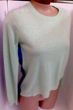 Mason Sweater Mint Cashmere Front Royal Silk Back Pet