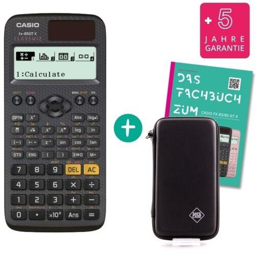 Fachbuch Casio FX-85GTX Schutztasche erweiterte Garantie