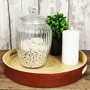 Ribbed-Glass-Jar-2280ML-Fluted-Design-Sweets-Cookies-Storage-Food-Pot-Container