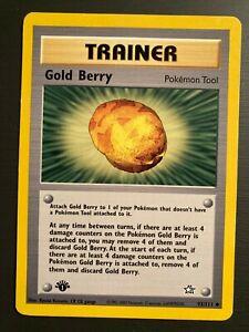 GOLD-BERRY-93-111-Neo-Genesis-1st-EDITION-non-holo-Pokemon-card