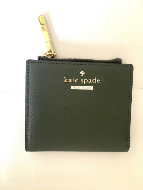 02d65d15d7bf2 Kate Spade Cameron Street Adalyn Saffiano Leather Wallet Evergreen ...