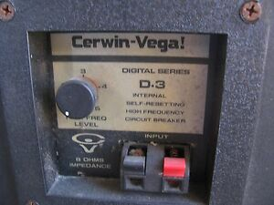 Details about Cerwin Vega D-3 crossover